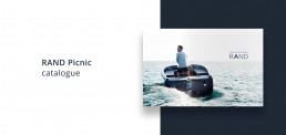 Layout af katalog for RAND Boats - RAND Picnic