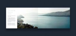 Layout af katalog for RAND Boats - The feeling beyond shore