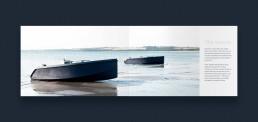 Layout af katalog for RAND Boats - The vessels