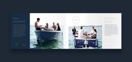 Layout af katalog for RAND Boats - Free movement & practical design