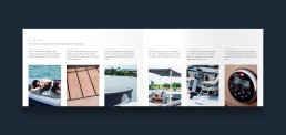 Layout af katalog for RAND Boats - Equipment