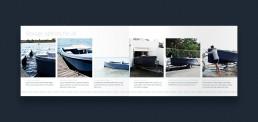 Layout af katalog for RAND Boats - Storage