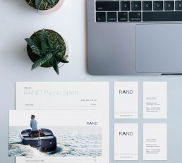 Print design for RAND Boats