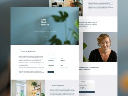 Webdesign for Ditte Marie Madsen - Psykoterapeut