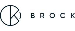 Logo for Brock Studio in dark blue