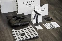 Retail design line for Bitte Kai Rand