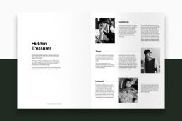 Layout af katalog for Bitte Kai Rand - AW18 - introduktion