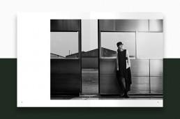 Layout af katalog for Bitte Kai Rand - AW18 - side 12-13 - Billede: Anders Overgaard
