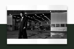 Layout af katalog for Bitte Kai Rand - AW18 - side 14-15 - Billede: Anders Overgaard
