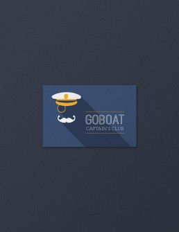 Club card design for GoBoat