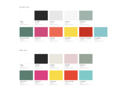 Global colours in the Magasin Design System