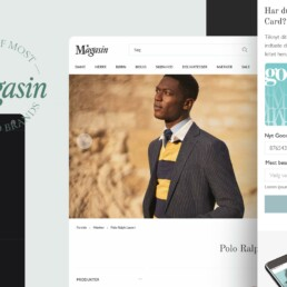 Branding and UI for Magasin du Nord